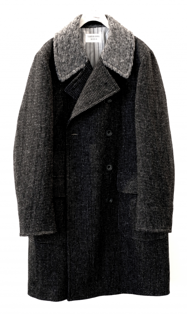 TWEED WOODSMAN POLO COAT