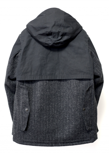 TWEED HOODED LOGGER JACKET