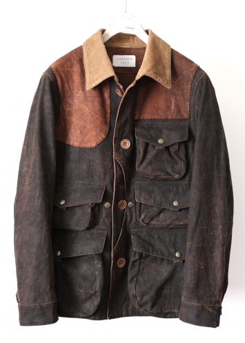 MUD DYED HUNTING JACKET