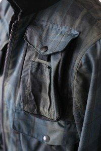 WAXED COTTON ANGLER JACKET