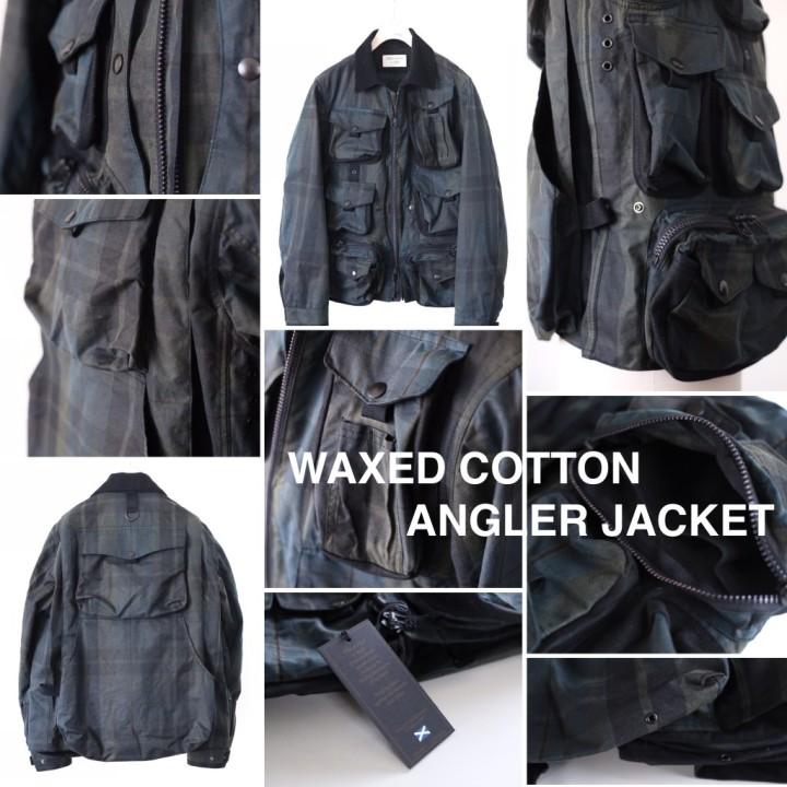 WAXED COTTON ANGLER JACKET