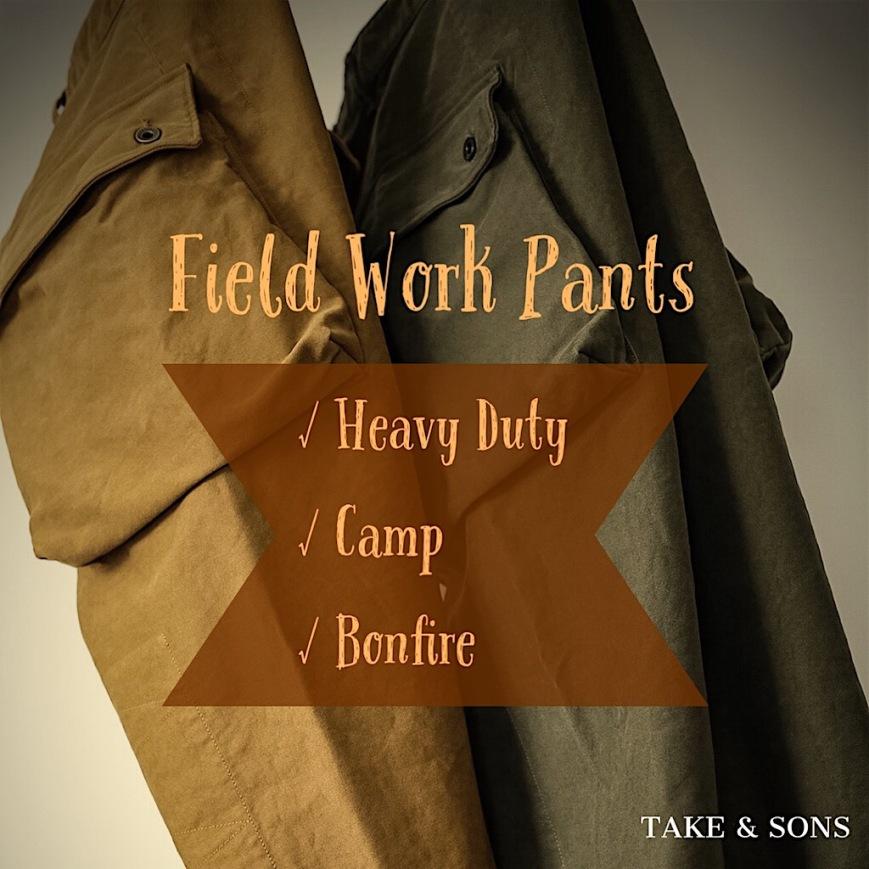 Field Work Pants